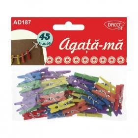 CARLIGE AGATA-MA PISCATORI LEMN - SET 45 DACO AD187