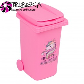 MINI TOMBERON GUNOI  RECYCLE BIN - ROZ (TIME TO BE A UNICORN)
