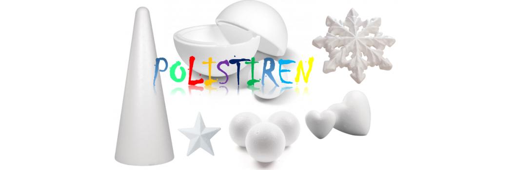 Articole din polistiren / styrofoam cu tematica sarbatorilor de iarna